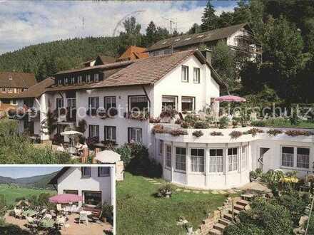 Möblierte 1 - Zimmer Wohnung in Baiersbronn in ehemaliger Pension
