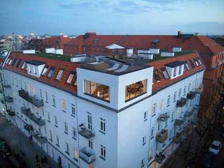 Lichtdurchflutete Penthousewohnung mit Dachterrasse in Neukölln zu verkaufen! www.brunobauer24.de