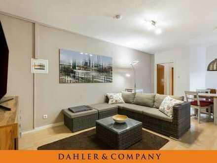 Möblierte Drei-Zimmer-Wohnung im Herzen von Bornheim