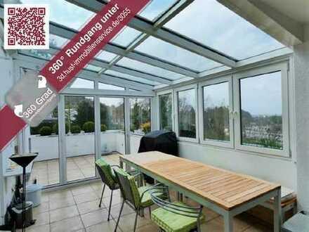 Mit 360° Tour! Über den Dächern von Grötzingen! Exklusive 4-Zimmer-Whg. mit Hauscharakter!