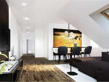 RE/MAX - 3,5-Zimmer-Dachwohnung in Baden-Baden / Sandweier, Balkon, Lagerraum +Tiefgaragenstellplatz