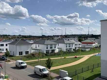 Schöne, geräumige drei Zimmer Wohnung in Nidderau mit Fernblick