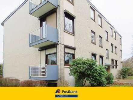 Charmante Etagenwohnung mit 2 Balkonen und Tiefgaragenstellplatz in ruhiger Lage