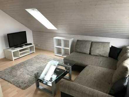 möblierte moderne 2,5-Zimmer DG-Wohnung in 73765 Neuhausen