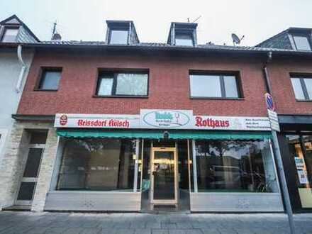 REUTER IMMOBILIEN Ladenlokal / Büro / Praxis in verkehrsgünstiger schöner Wohnlage in Köln Longerich