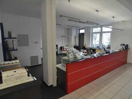 Büro und Verkaufsfläche im Erdgeschoss in Dettingen Zentrum!