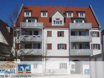 Gepflegte Etagenwohnung mit sensationellem Ausblick über Lauingen zu verkaufen!