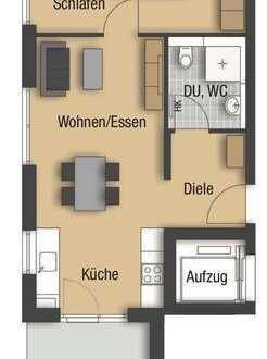Jetzt Verkaufsstart: Moderne 2 - Zimmerwohnung mit Gartenanteil