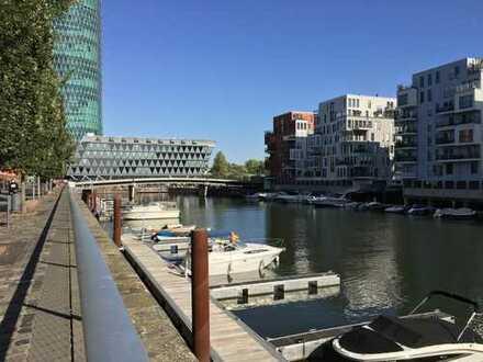 2 Zi., möbliert, ohne Makler, direkt am Westhafen