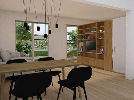 Traumhaftes Appartment im Grünen mit Terrasse und Garten - Neubau