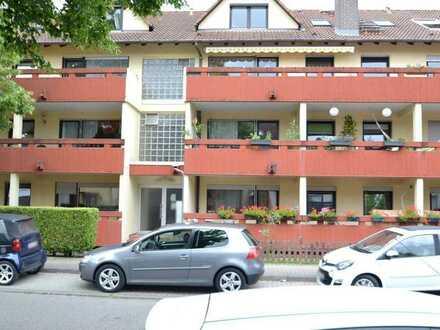 Vermietete 2-Zimmer-Eigentumswohnung mit Südbalkon und Tiefgaragenstellplatz