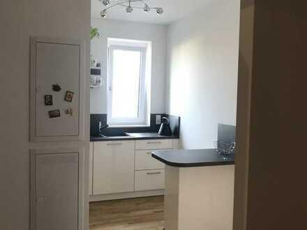 Exklusive, neuwertige Wohnung mit Balkon und Einbauküche in Frankfurt am Main