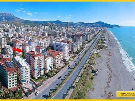 Ausgezeichnetes 3-Zimmer-Apartment in Mahmutlar, nur 50 m vom herrlichen Strand entfernt!