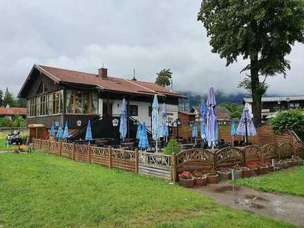 Gaststätte in direkter Lage an der Isar zu verkaufen, Obj. T/0403