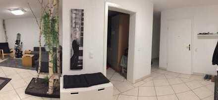 Moderne Wohnung mit Fußbodenheizung