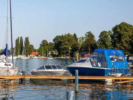 Maritimes Wohnen in Köpenick: vermietete Eigentumswohnung mit Bootsanleger und Stellplatz