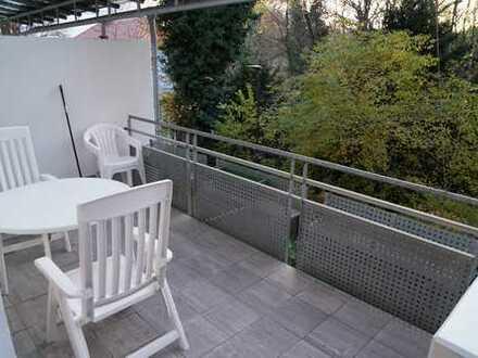 Stadtmitte Erding: 4-Zimmer-Maisonette-Wohnung mit Grünblick