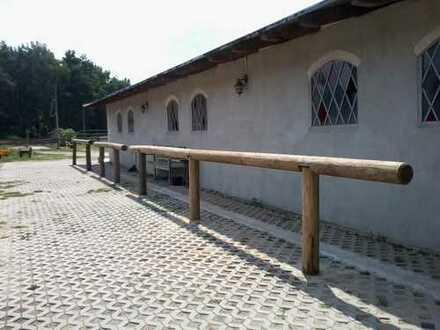 ▷ Pferdehof und Stallungen gut vermietet mit nahtlosen Übergang