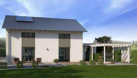 Modernes Einfamilienhaus mit viel Platz für die Familie- Effizienz 55 -Technikfertig