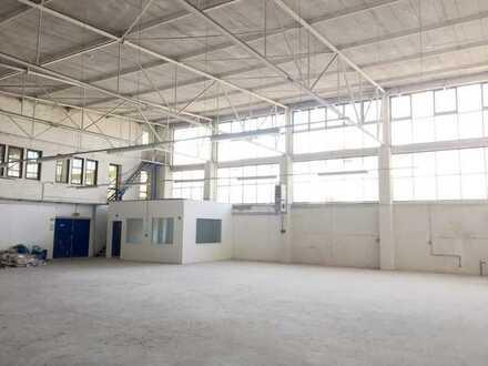 340 m2 Lager - Zufahrt nur für kleine LKW, Rampe im Gebäude