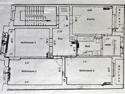 Ideale WG Wohnung ! am Westfalenpark ! 3,5 Zimmer 96m² mit 2 Balkonen !