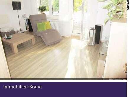 Gepflegte 2 ZKB Wohnung mit großem Balkon in zentrumsnaher Lage!