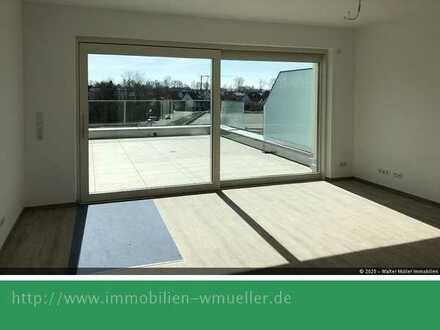 Luxuriöse 2 Zi./Bad/WC-Whg. ca.78m² mit gr. Dachterrasse in ruhiger Innenstadtlage!