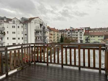 Moderne, helle 4 Zimmer Maisonettewohnung mit 2 Balkonen in Mainz-Neustadt