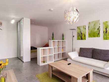 Gut ausgestattete 2 Zimmerwohnung mit 2 Balkonen