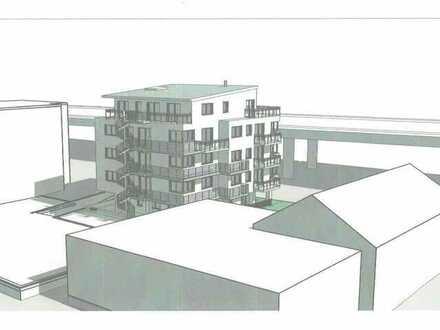 Grundstück mit Baugenehmigung für MFH mit 10 WE