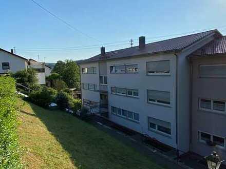 Erleben Sie den Sonnenuntergang - Große 3-Zimmer-Wohnung in Neckargerach in ruhiger Ortsrandlage