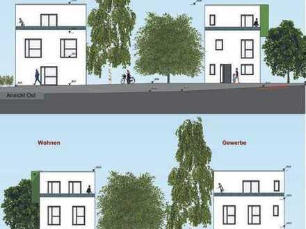 Grundstück inkl. Baugenehmigung für Wohnen & Gewerbe