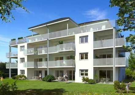 Moderne 3 Zimmerwohnung mit Blick ins Grün in ruhiger und zentraler Lage von Reute