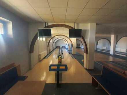 Bowlingbahn / Gastronomie