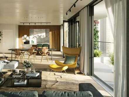 Viel Freiraum, Licht und Lebensqualität! Große 2-Zi.-Whg. auf 98 m² mit weitem Blick über den Taunus