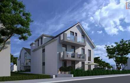 ProfiConcept: Egelsbach, Neubau-6-Familienhaus mit großzügigen Terrassen / Balkonen und Tiefgarage