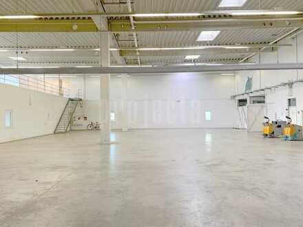 p.r.o.v.i.s.i.o.n.s.f.r.e.i. Lagerhalle mit 2 x Rampe und Bürofläche