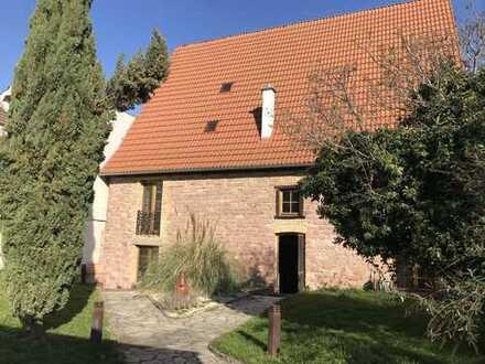 #Traitteur - Rarität: Historische sanierte Tabakscheuer als Hof Ensemble mit Garten