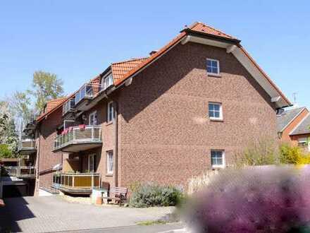 Schicke 2 Zi. DG-Whg. * Balkon * Fußbodenheizung
