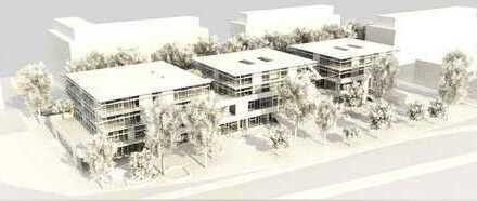 Modernes Neubaubüro mit Terrassen