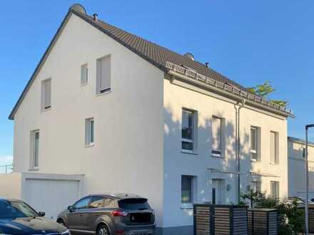 Hochwertige Niedrigenergie Doppelhaushälfte mit 5 Zimmern (EBK) im Neubaugebiet Argonner Park Hanau