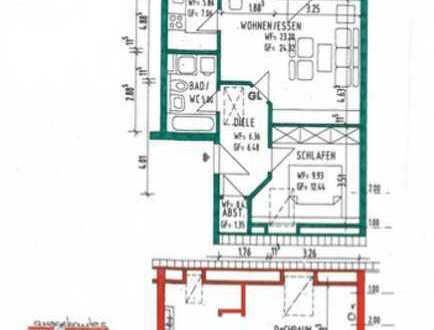 Schöne, helle drei Zimmer Maisonette Wohnung in Ditzingen