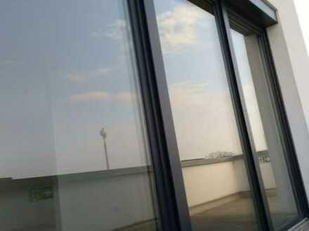 Ungehinderte Sicht ins Freie; Single-Seniorenwohnung, Osthofens gefragte Lage