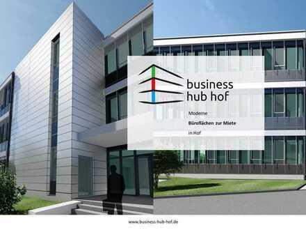 business hub hof | NEUBAU | Moderne Büroflächen in zentraler Lage | BEZUG AB Q4 / 2022