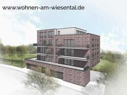 Ihre neue Terrassenwohnung am Wiesental. Erstbezug!