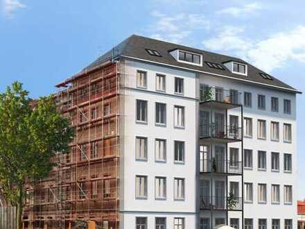 Altbau-Charme trifft modernste Baukunst! 3-Zimmer-Wohnung mit 2 Balkonen