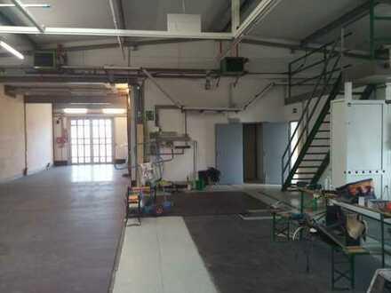 Gewerbehalle, ca. 320 qm, günstiger Mietpreis, gute Lage an der B36 bei Durmersheim