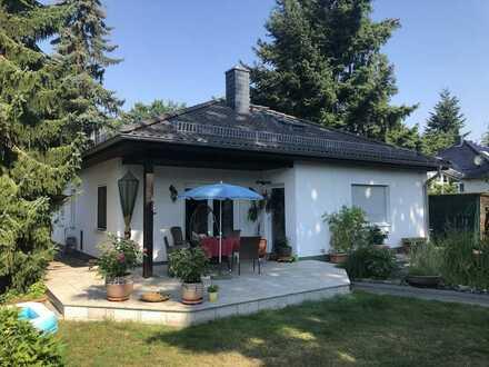 Bungalow mit ausgebautem Dachgeschoss in schöner, ruhiger Lage in Vogelsdorf