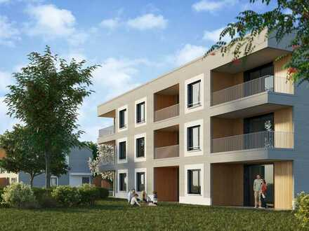 4-Zimmer-Wohnung mit Ankleide, Gäste-Bad, Abstellraum und Balkon