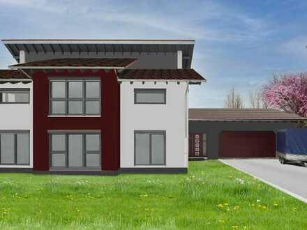 Freistehendes Niedrigenergiehaus, großes Grundstück mit schöner, durchdachter Grundriss-Aufteilung.